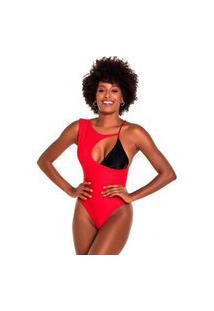 Maiô & Body Kalini Beachwear Premium Assimétrico Malibu
