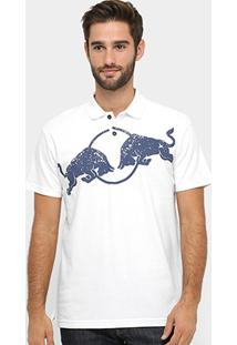 Camisa Polo Red Bull Racing Stock Car Bulls Asphalt Masculina - Masculino