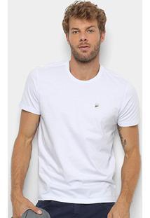 Camiseta T-Shirt Ellus Manga Curta Masculina - Masculino-Branco