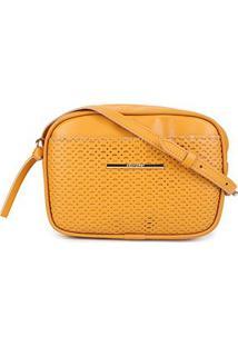 Bolsa Anacapri Mini Bag Eco Montreal Feminina - Feminino-Amarelo
