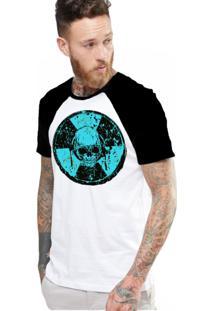Camiseta Manga Curta King33 Raglan Branco