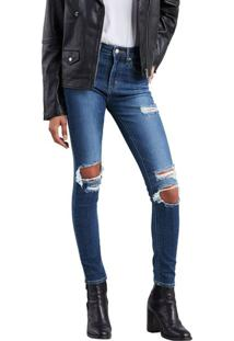 Calça Jeans Levis 721 High Rise Skinny - 26X32