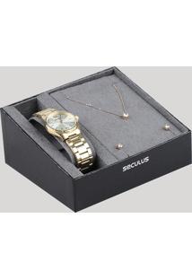 bacb098b3a4 Relógio Analógico Seculus feminino