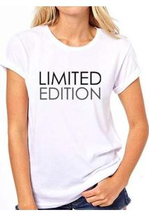 Camiseta Limited Coolest Edition Feminina - Feminino-Branco
