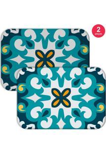 Jogo Americano Love Decor Mandala Blue Azul - Kanui