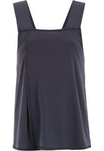 Alcaçuz Blusa 'Futura' - Azul