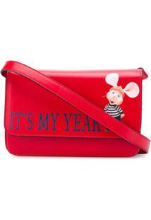 Alberta Ferretti It'S My Year Bag - Vermelho