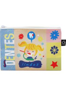 Necessaire Envelope Ó Design Menina - Od-Nevim - Azul - Kanui