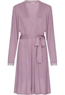 Robe Modal Misty Quail E Nude - U
