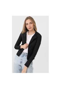 Blazer Rioutlet Fashion Preto