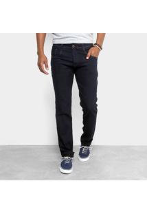 Calça Jeans Skinny Biotipo Lavagem Clássica Masculina - Masculino-Azul Escuro