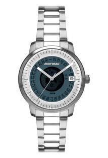 Relógio Mormaii Feminino Maui Prata Mo2415Aa/1A Mo2415Aa/1A