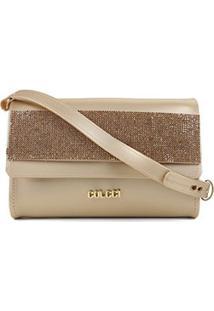 Bolsa Colcci Mini Bag Firenze Feminina - Feminino-Ouro