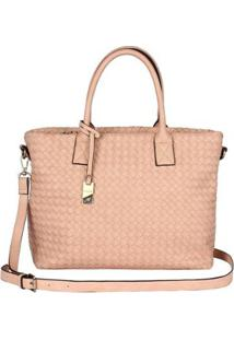 Bolsa Mormaii Shopping Bag Trissê - Feminino-Nude