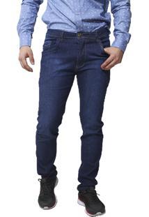 Calça Jeans Victor Deniro Blue Standard Azul