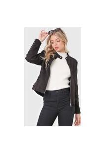 Jaqueta Polo Wear Suede Preta