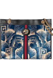 Gucci Rajah Printed Tote - Azul