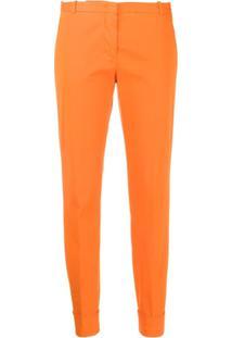 Fabiana Filippi Tailored Slim-Fit Trousers - Laranja