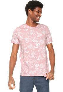 Camiseta Hering Estampada Rose