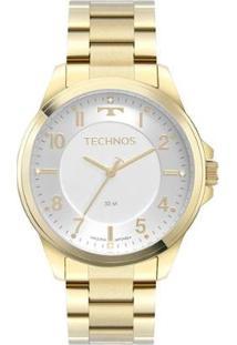 Relógio Technos Analógico Feminino - Feminino-Dourado