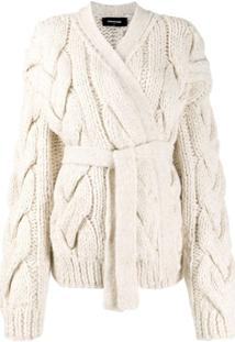 Dsquared2 Cardigan De Tricô - Branco