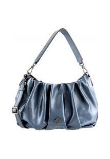 Bolsa Feminina Em Couro 6578 Azul