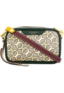 Tory Burch Perry Jacquard Crossbody Bag - Verde