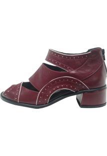 Sapato Thádiva Dinamarca Cereja