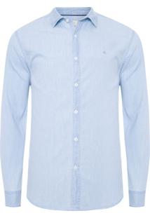 Camisa Masculina Jeans Amsterdã - Azul