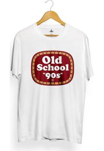 Camiseta Skill Head Old School 90S - Masculino-Branco