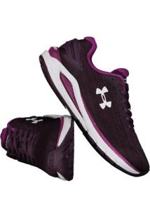 Tênis Under Armour Charged Carbon Feminino Roxo - Feminino