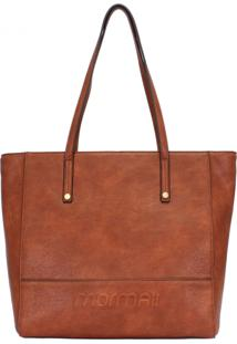 Bolsa Mormaii Shopping Bag Com Relevo - 44702 - Caramelo