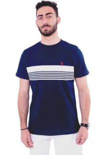 Camiseta Golf Club Listrada Masculina - Masculino