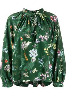 Zadig&Voltaire Printed Blouse - Verde