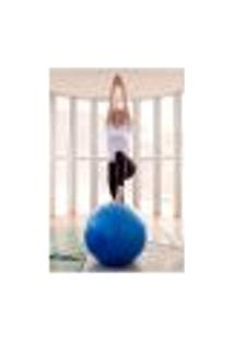 Painel Adesivo De Parede - Fitness - Pilates - 1609Pnp