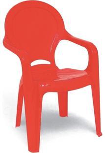 Cadeira Tramontina Tique Taque Vermelho