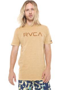 Camiseta Rvca Pigment Amarela