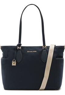 Bolsa Michael Kors Connie Lg Diaper Bag Azul Marinho