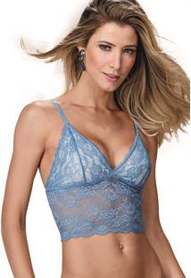 Sutiã Top Brigitte Demillus 61129 Azul Nuage