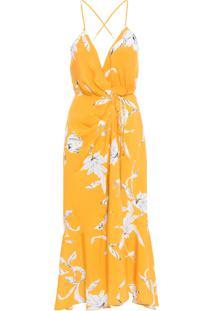 Vestido Midi Coshecouer - Amarelo