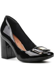Sapato De Salto Feminino Ramarim Preto