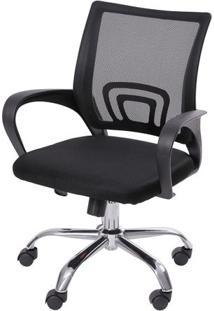 Cadeira Giratória 3310 Baixa - Preto