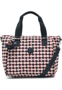 ebbbb3665 ... Bolsa Kipling Handbags Amiel Meta Azul Marinho