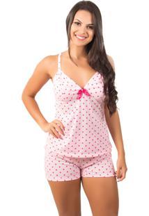 Baby Doll Bella Fiore Modas De Poá Pink