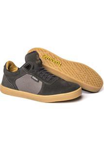 Tênis Embora Footwear Avalon Masculino - Masculino-Cinza+Chumbo