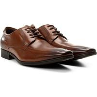 658b50a3f1 Sapato Social Couro Democrata Smart Comfort Dress Cronos Flex Masculino -  Masculino-Café
