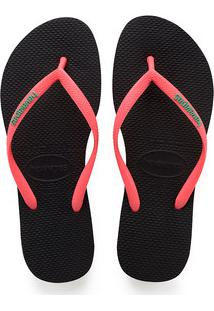 35d0fb261 ... Chinelo Feminino Slim Logo Pop Up Havaianas 0411