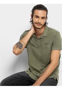Camisa Polo Drezzup Estonada Masculina - Masculino
