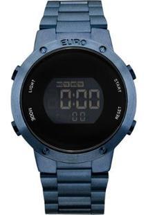 Relógio Feminino Fashion Fit Eubj3279Ac/4A - Azul Eubj3279Ac/4A - Feminino