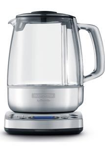 Bule Elétrico Jarra Vidro Gourmet Tea Tramontina Prata 220V